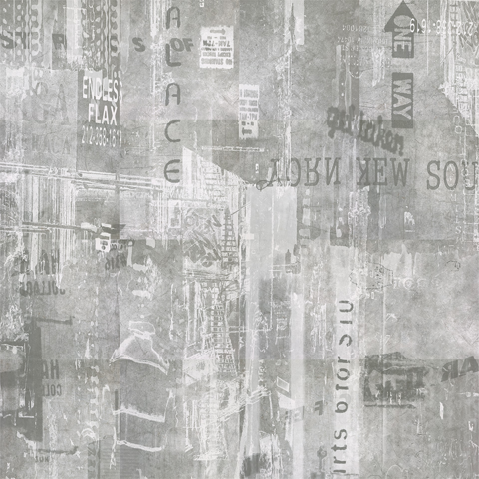 Graffiti wall tiles - Graffiti Pannello Urban 60x60 16pz